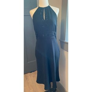 Jones New York Black halter cocktail dress size 10